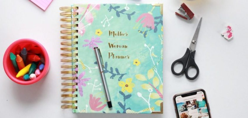 The Ultimate Planner for Busy Moms 2019- Mother. Woman. Planner.®