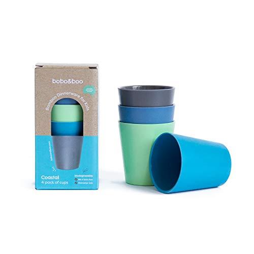 Bobo&Boo Bamboo Kids Cups 10oz Product Image