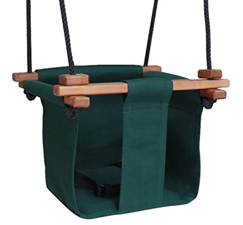 Baby KEA Swing, Forest Green Indoor or Outdoor Wood Product Image