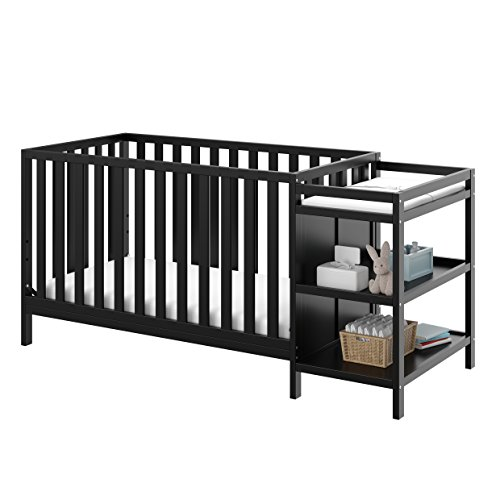 Storkcraft Portofino 4-in-1 Convertible Crib with Changer Product Image