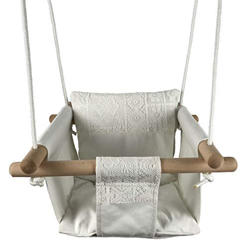Indoor Outdoor, Cotton Canvas Baby Swing Product Image