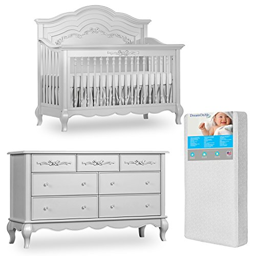 Evolur Parker 5-in-1 Convertible Crib Product Image