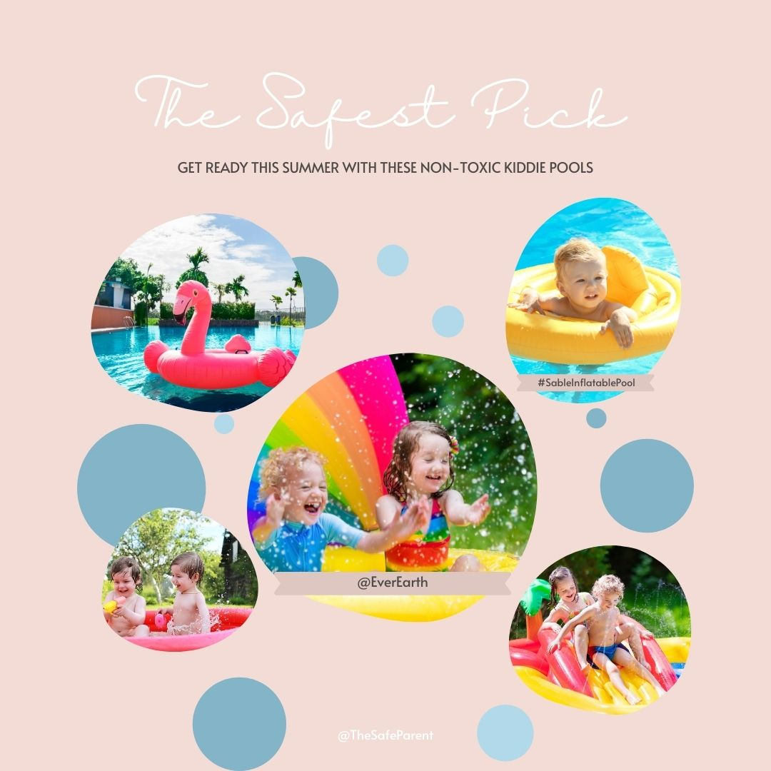 piscina para niños no tóxica