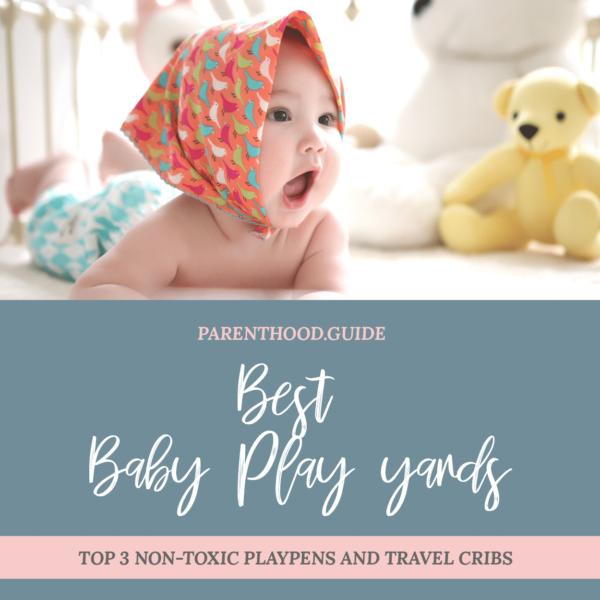Meilleur terrain de jeu pour bébé non toxique - titre infographique