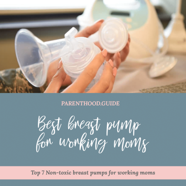 Best breast pump for working moms- title infographic