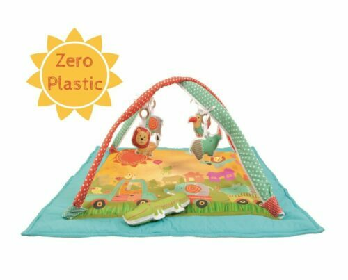 YassinO Non-toxic baby play gym