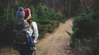Baby Gear - mochila portabebés orgánica para el senderismo