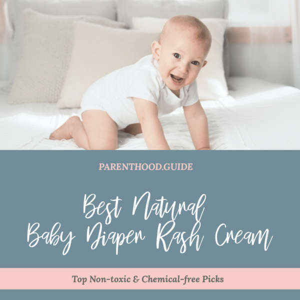 Best non-toxic baby diaper rash cream- title infographic
