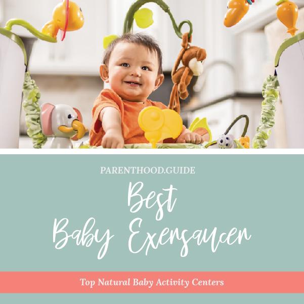best baby exersaucer: best baby activity center infographic