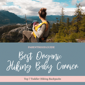 Best hiking baby carriers- title infographic