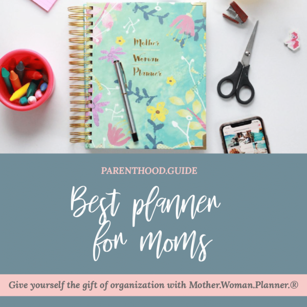 Meilleur planificateur pour les mamans - titre infographique