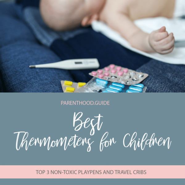 Best thermometers for children- title infographic