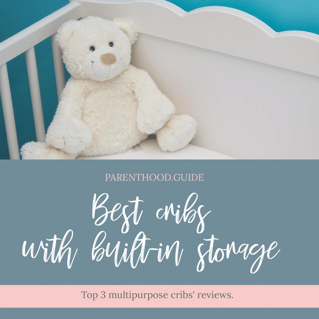 Beste Krippen mit Unterbettaufbewahrung - Oberes Kinderbett mit Aufbewahrungsanleitung