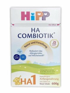 hipp ha etapa 1 combiótico hipoalergénico
