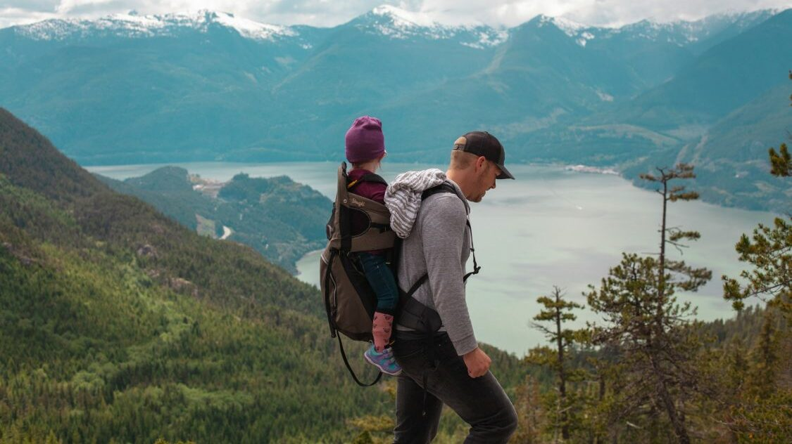 Best non-toxic organic baby carrier for hiking