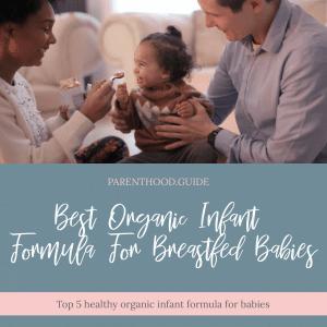 Organische Säuglingsanfangsnahrung Infografiken